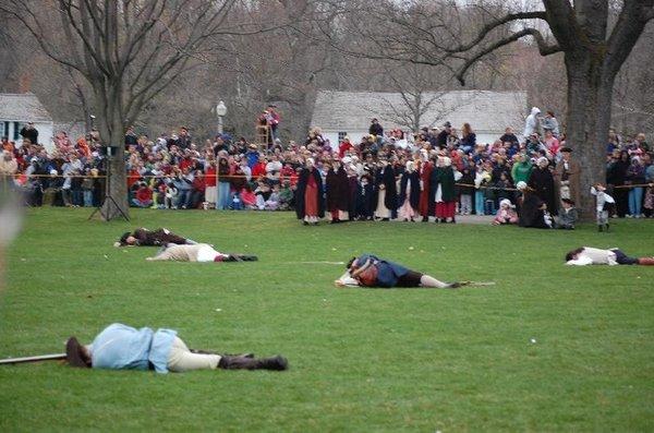 Reenactments in Concord and Lexington MA | Lauren Huyett ...